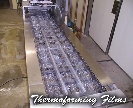 Thermoforming Film Packaging, PVC film, nylon film, poly film, and EVOH film